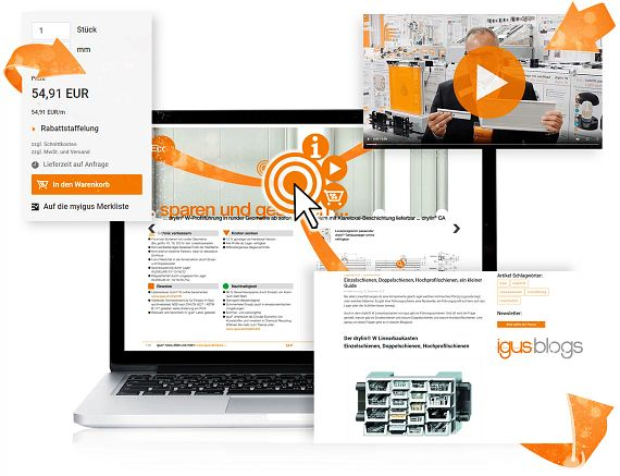 Interactive new products catalogue