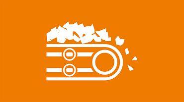 Bulk handling icon