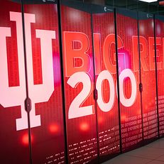 Big Red 200 is pictured in the Indiana University Data Center in Bloomington on Tuesday, Jan. 14, 2020. Big Red 200 is the fastest university-owned artificial intelligence supercomputer in the United States. The system, named for the IU Bicentennial, replaces the highly successful Big Red II Cray supercomputer, which began service in 2013 but is becoming obsolete.