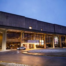 """The exterior of the Musical Arts Center is pictured before the opening performance of IU Opera Theater's """"La Traviata"""" at IU Bloomington on Friday, Feb. 28, 2020. The MAC auditorium at the IU Jacobs School of Music will be refurbished this summer for the first time since it was built in 1971, as part of the IU Bicentennial."""