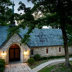 Beck Chapel is pictured on a summer evening at IU Bloomington on Wednesday, July 1, 2020.