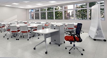 ClassroomRender1 Sift Instruct StriveNesting Pirouette CZScreen