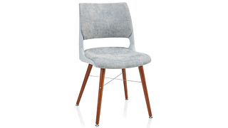 Doni Guest Chair | Tapered Wood Leg with Solid Shell (Upholstered Seat & Back)
