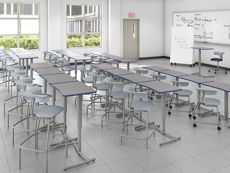 Ruckus tiered classroom