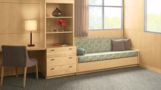 LaResta Day Bed | Built-In