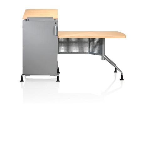 Instruct Rack Teachers Desk Front