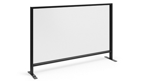 Monolithic Flex Screen with Dual Sided Fluted Polycarbonate Core