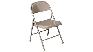 100 Series Folding Chair | Steel Seat