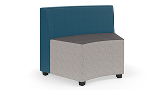 MyPlace Lounge Furniture | 45° Inside Curve w/ Back
