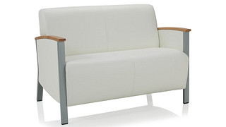 Soltice Metal Lounge Seating | Loveseat
