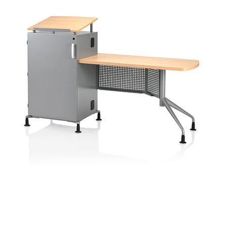 Instruct Rack Teachers Desk Angle
