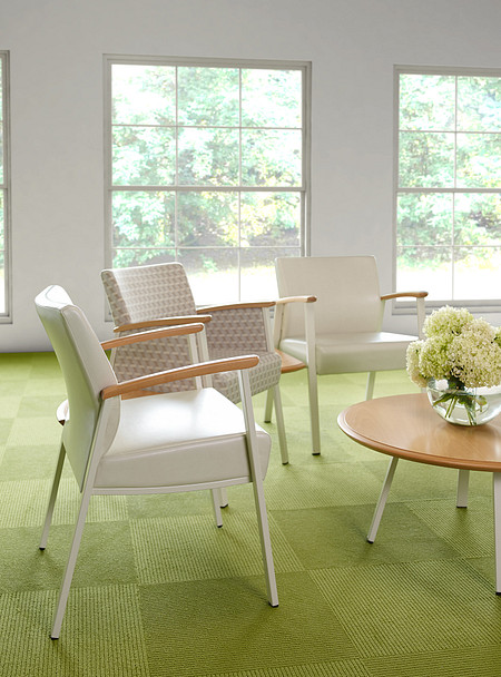 SolticeMetal MultipleSeating SingleChairs 45DegreeConctTbls