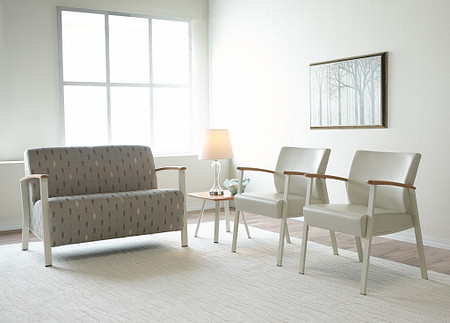 SolticeMetal LoungeLoveseat OccTable SingleChairs