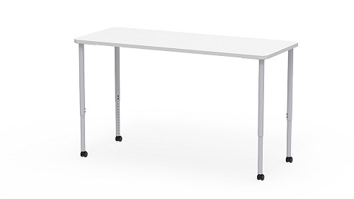 Rectangle, Sit-Stand Height Adjustable