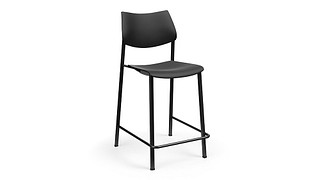 Katera Cafe Stool | Poly Seat and Back
