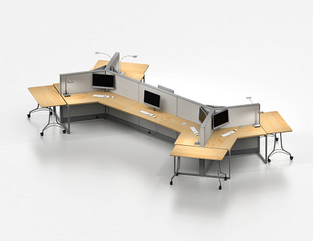 Unite System open plan with Enlite tables