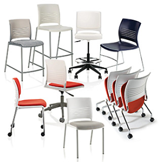 Strive Seating Revit Symbols