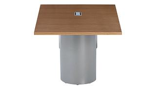 Serenade Conference Tables | Metal Drum Leg