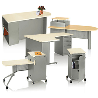 Instruct Teacher Desks Revit Symbols