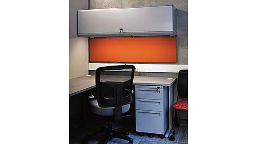 Overhead Cabinet with Steel Door