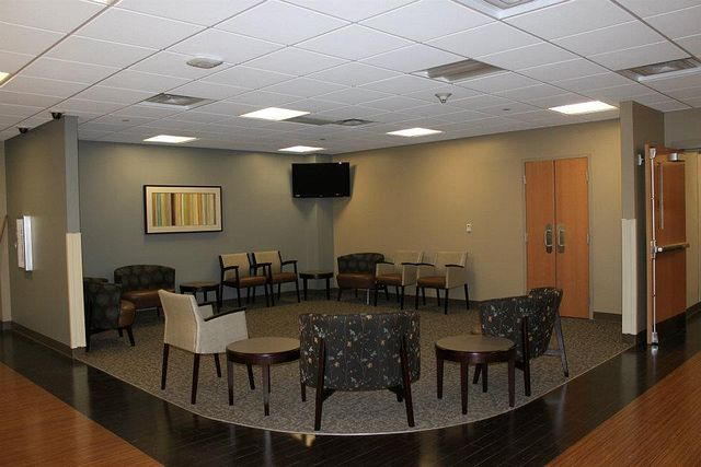 Waiting Room Arissa Chairs Soltice Guest Chairs Flex Tables