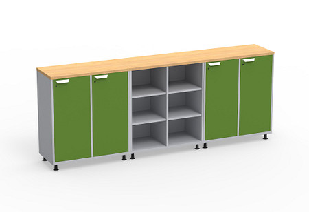 Ruckus SF cubby lockers