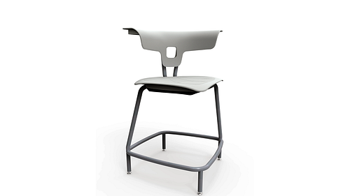 Stool with Poly Seat