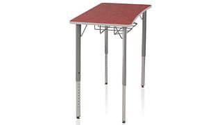Intellect Wave Desks   4-Leg Desk