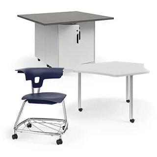 Ruckus Classroom Furniture Revit Symbols