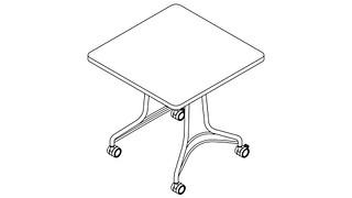 Enlite Tables | Square Top