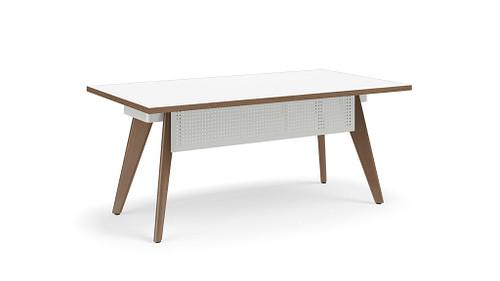 Wood Leg Desk