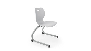 Intellect Wave Chair | Cantilever Poly Chair