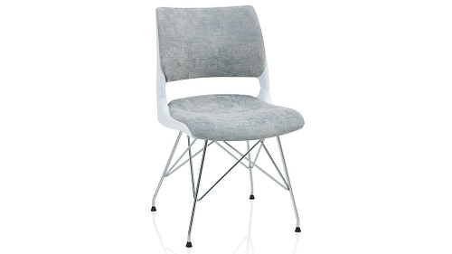 Wire Tower with Solid Shell (Upholstered Seat & Back)