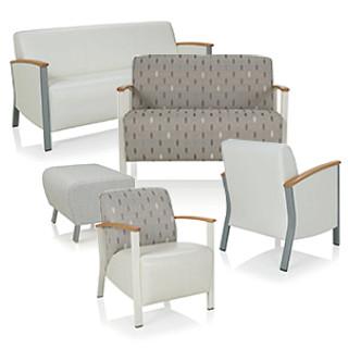 Soltice Metal Lounge Seating CAD Symbols