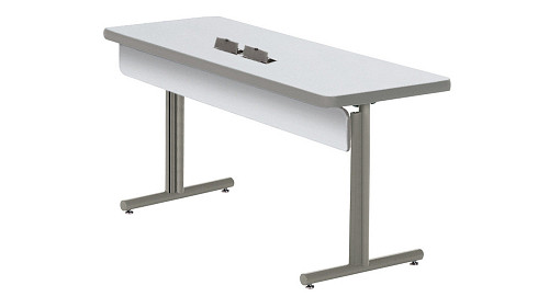 Barron Lightweight Folding Leg Table with PowerUp Module
