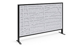Tattoo Screens | Patterned Polyester Felt Magnetic Insert