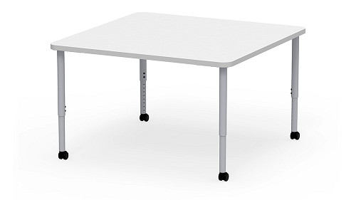 Square, Sit Height Adjustable