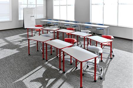 Ruckus class12e PLDesks tables stackchairs