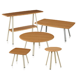 Soltice Metal Occasional Tables CAD Symbols