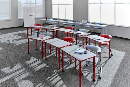 Ruckus class12d PLDesks tables stackchairs props