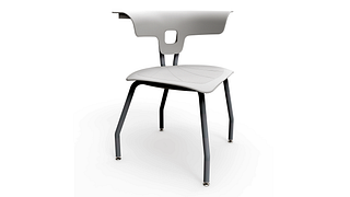 Ruckus Chair | 4-Leg Chair, Poly Seat