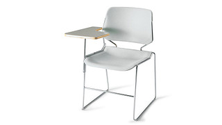 Matrix Stack Chair | Tablet Arm Chair
