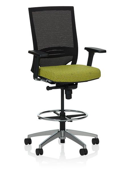 Sift task stool arms uph angle