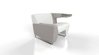 MyWay Lounge Seating | Left Low Arm, Right Work Arm