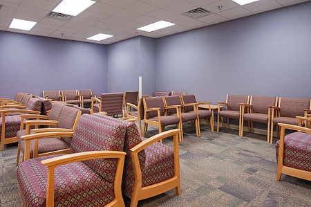 united regional soltice multiple bariatric guest waiting seating lobby healthcare