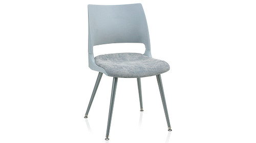 Tapered Steel Leg with Solid Shell (Upholstered Seat)