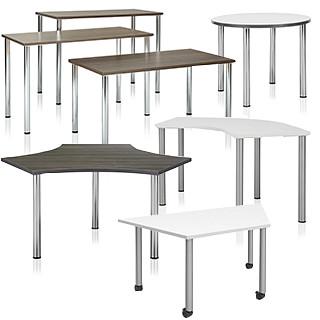 Pillar Tables CAD Symbols