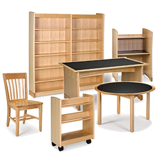 CrossRoads Library Furniture Revit Symbols