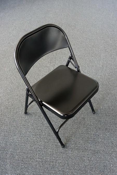 Black seriesfoldingchair