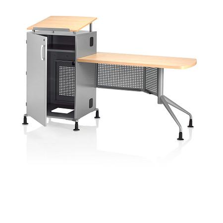Instruct Rack Teachers Desk Door Open Angle